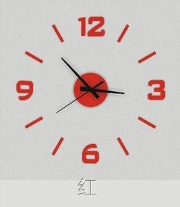 Jinxu Bricolage 16 Pouces Amovibles Stéréo Numérique Autocollants Muraux Guabiao Horloge Horloge Murale Prix,16 Pouces Xuanlihong