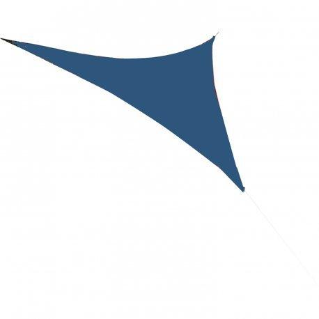 Easywind - Voile d'ombrage 500x500x500cm - Libeccio - Forme Triangulaire, Coloris Bleu, Tissu Extensible