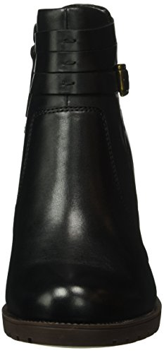 Clarks Malvet Maria, Stivaletti Donna Nero (Black Leather)
