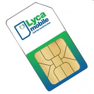 Lycamobile mehr Belgien Karte Sim Prepaid mit Neue Nummer und 5Euro Kreditkarte Anruf-inklusive