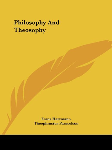Philosophy and Theosophy