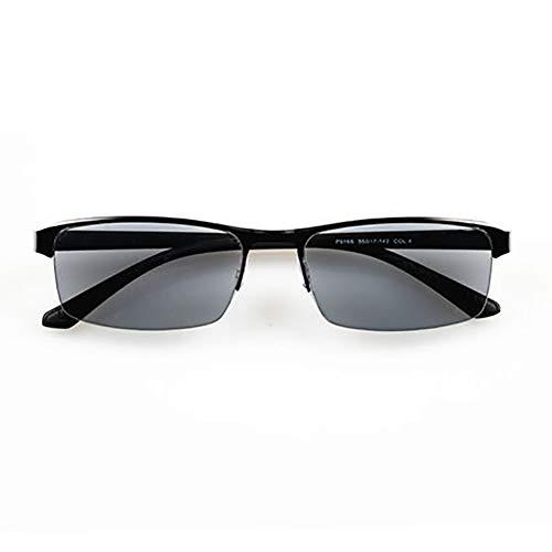 QL Lesebrille Verfärbung, Progressive Multi-Fokus, Sonnenbrille, Komfort Modequalität Leser