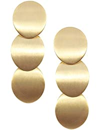 2e857539e781 Happiness Boutique Damas Pendientes Llamativos en Color Oro