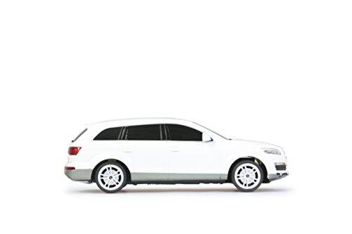 Jamara 400089 - RC Audi Q7 1:24, 27 MHz inklusive Fernsteuerung, weiß