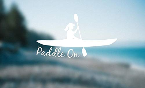 CELYCASY Custom Decal Paddel Aufkleber Paddel On Decal Paddle Girl Paddle On Decal Paddle On Sticker Can Customize