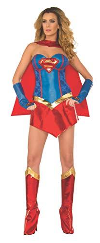 Rubie's offizielles Supergirl-Korsett-Kostüm für Damen, Erwachsenen-Kostüm, Größe -