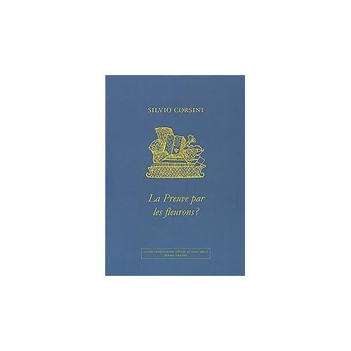 La preuve par les fleurons ? Analyse comparée du matériel ornemental des imprimeurs suisses romands 1775-1785