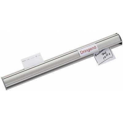 Maul Ballfix - Barra para etiquetas o títulos (50 x 2,2 cm, aluminio)