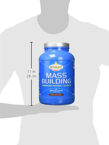 Ultimate Italia Mass B Building Gainer, Cacao - 1800 gr - 31oW4x7%2BddL