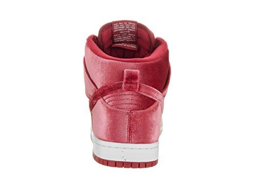Nike 313171-661, Scarpe da Basket Uomo Rosso