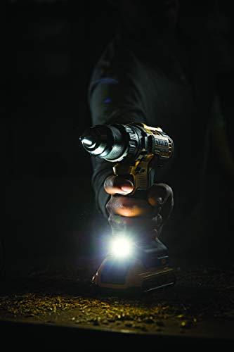 DeWalt Akku-Schlagbohrschrauber/ Akkuschrauber (18 Volt, 15-stufiges Drehmomentmodul, 13 mm Schnellspann-Bohrfutter, LED-Arbeitslicht, inklusive Zubehör) DCD796D2 - 5