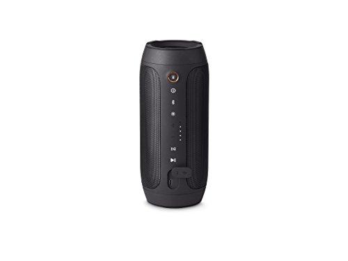 JBL Pulse 2 - Altavoz portátil (2 x 8 W, 80 dB, LED, Bluetooth/USB/3.5 mm), color negro