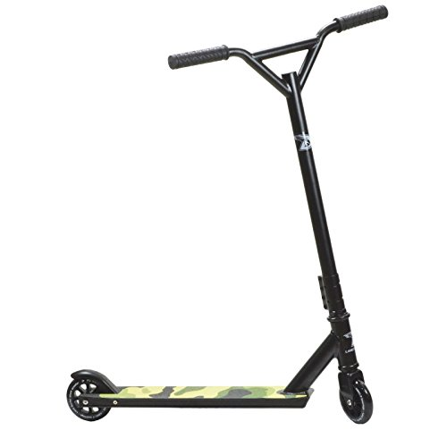 Land Surfer Stunt Scooter Camouflage Green
