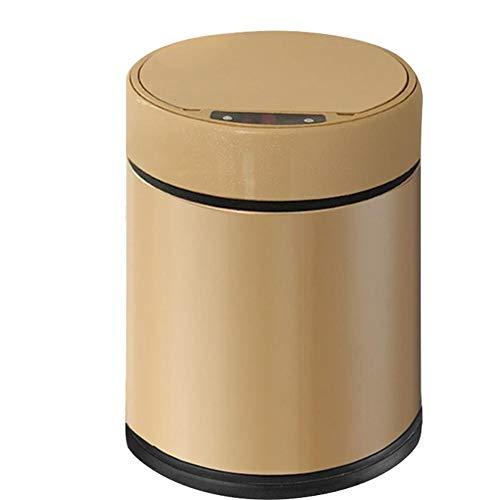 imer Mülltonnen Küchen Abfalleimer Automatische Elektrische Induktion Papierkörbe Angetrieben Durch Batterien Für Wohnzimmer Schlafzimmer Küche Badezimmer, 6L ()