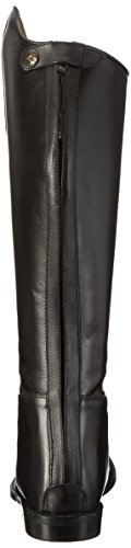 HKM, stivali da equitazione Spain in pelle morbida corti, ampi, da uomo nero