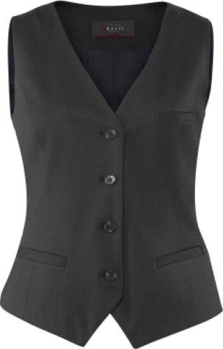 Anzug weste schwarz damen