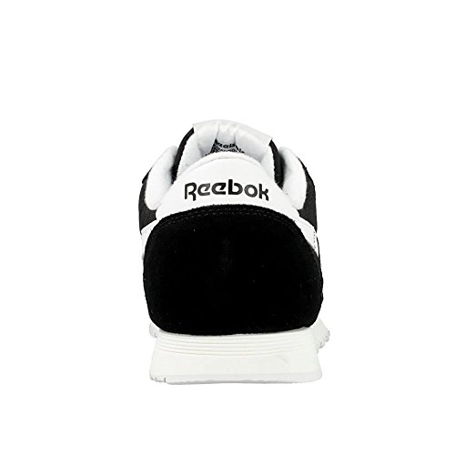 Reebok Damen Classic Nylon Sneakers Schwarz
