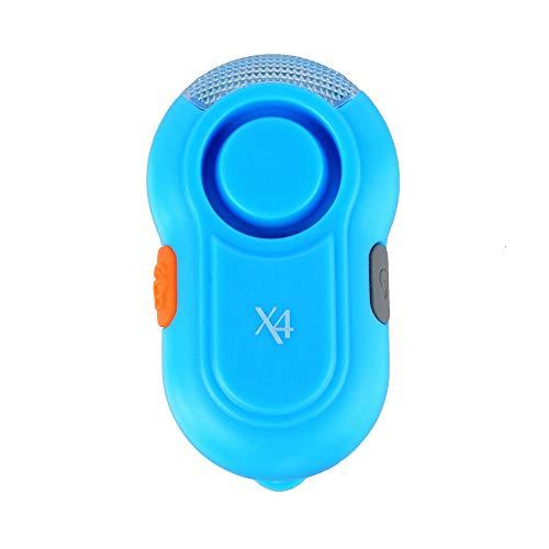 Unbekannt X4-Life 701656 Security Schulranzenalarm blau Clip-On Alarm für Schulranzen mit integrierter LED-Lampe