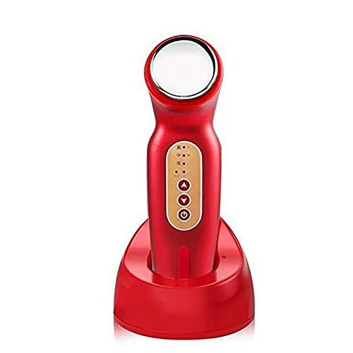 GWJ Ultraschall Galvanische Photon Vibration Gesicht Massagegerät Sonic Reinigung LED Beauty Haut Care Body Massage Kosmetisches Ultraschallgerät