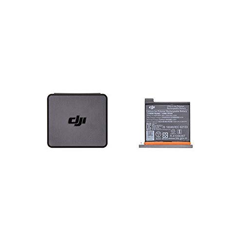 DJI Osmo Action Part 1 - Akku für DJI Osmo Action Kamera, maximale Kapazität 1300 mAh, schnelle und einfache Installation, Behälter für Batterien und MicroSD-Karte