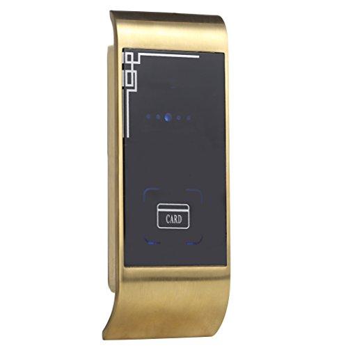 uhppote Schrank Sauna Dusche Raum Spind Metall Shell Lock EM 125KHz ID Karte Stand, gold
