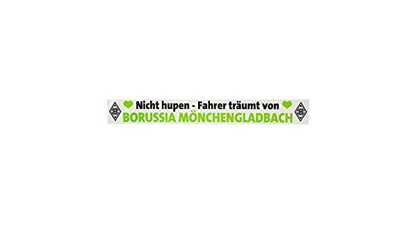 Borussia Mönchengladbach Aufkleber Auto Nich Hupen Vfl