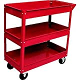 Best Rolling Tool Boxes - Toolscentre Exclusive Quality 3 Layer Shelf Workshop Trolley Review