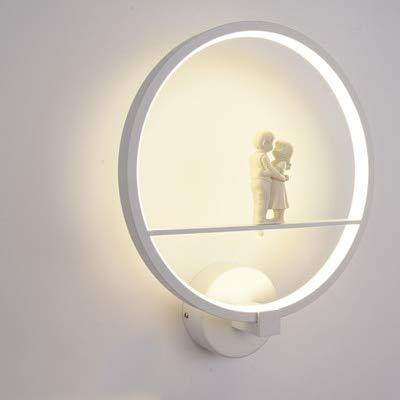 Wandlicht Wohnzimmer Schlafzimmer Scheinwerferständer Cold White Paar Weiß