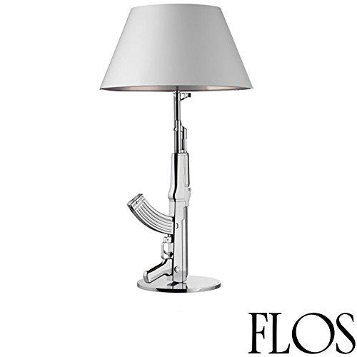 Flos Guns Table Gun Lámpara de Mesa Cromado Design Philippe Starck 2005 Made in Italy