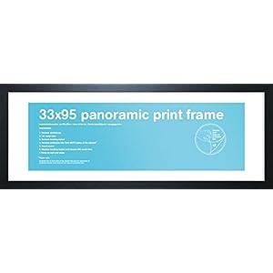 GB Eye Bilderrahmen für Panorama-Druck, 33 x 95 cm, schwarz