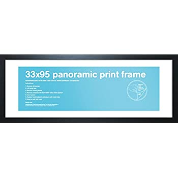 Gb Eye Ltd FMPNA1BK Panoramic Print Frame, Black, 102 x 102 x 3.8 cm ...