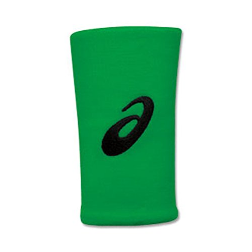 ASICS Team Performance Doublewide Armband, Unisex, Team Performance Dw Wristbands, neon Green, Einheitsgröße Asics-armband