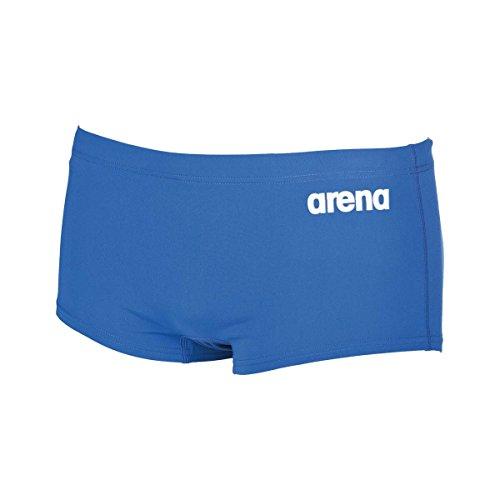Arena Solid Squared Short Badeshorts Minishort, Herren, Herren, Minishort Solid Squared Short Blau