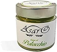 Dolci Siciliani Asaro: Crema al Pistacchio spalmabile - Confezione da 200 grammi