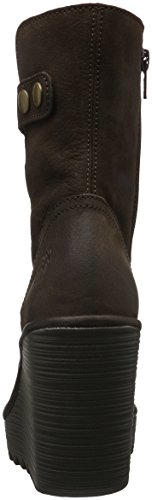 FLY London Char686fly, Bottes Classiques Femme Marron (Mocca 002)