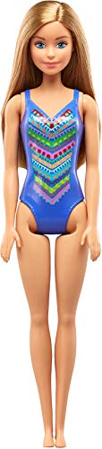 Barbie FJD97 Beach Puppe (blau) - Ethnische Barbie-puppen