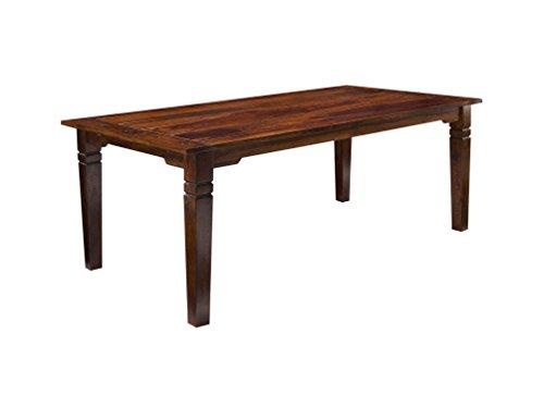 PKLine Esszimmertisch INA 100x200 in braun inkl.<p><li> 2 Einlegeplatten Küchentisch Tisch