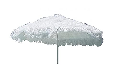 Parasols Blanc - Jan Kurtz Hawaii Parasol à franges Blanc