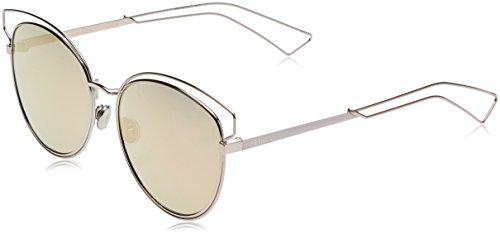Dior Damen DIORSIDERAL2 0J JA0 Sonnenbrille, Pink Rose Gd Grey Speckled, 56