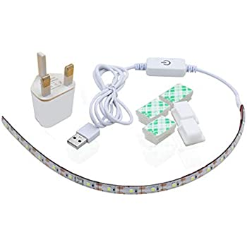 Sewing Machine LED Houkiper 5V 30CM Light Strip Lighting kit with Touch Dimmer and USB Power Fits All Sewing Machines Cool White 5V 30CM