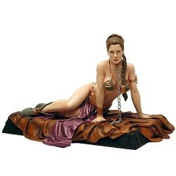 Star Wars - Princess Leia as Jabba´s Slave Statue