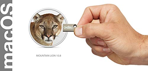 macos mountain lion 10.8 bootfähiger usb bootstick Installationsstick Install upgrade recovery 10.8