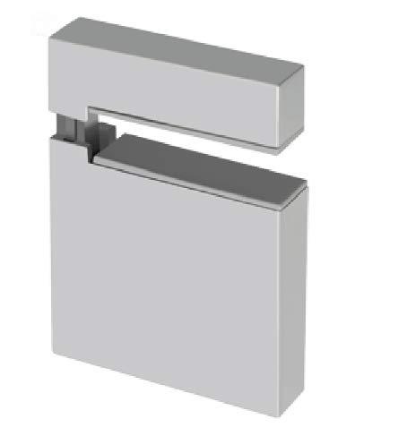 Design612unidades estante soporte de suelo aluminio para baldas de cristal y madera...