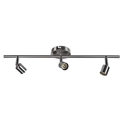 Sweet Led SW-18S Plafonnier pivotant avec spots mobiles et spots de plafond en métal 230 V, GU10, IP20, 3-flammig, GU10 230.00volts