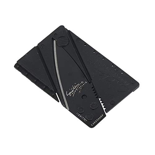 Knife Survival Multi Tool Card Knife Folding Wallet Credit Card Pocket Multifunctional Safety Leather Cover Multi Tool