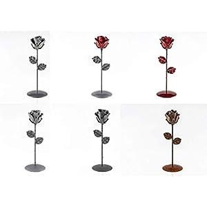 Eisen Schmiede ewige Rose - von Hand geschmiedet - Kundenspezifische Verschiedene Farben - optionale Gravur