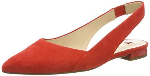 HÖGL Damen Kindly Slingback Ballerinas, Rot (Scarlet 43, 39 EU (Flache Damen Schuhe)