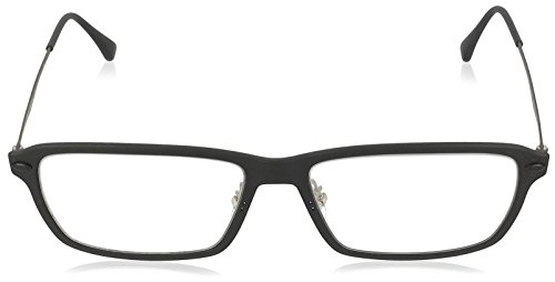 Rayban Unisex-Erwachsene Brillengestell RX7038, Schwarz (Matte Black), 53