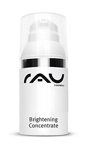 RAU Brightening Concentrate 30 ml - Natürliches Serum zur Hautaufhellung und zur Reduktion von Altersflecken, Pigmentflecken und Sommersprossen -