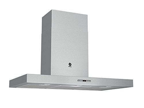 Balay 3BC896XM De pared Acero inoxidable 890m³/h A+ – Campana (890 m³/h, Canalizado/Recirculación, 360 m³/h, 44 dB, 50 dB, 55 dB)